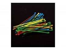 Cable Tie Nylon Set Five Colors 50pcs