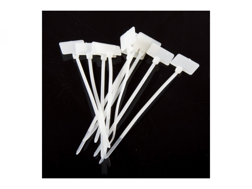Cable Tie Nylon Set With Tag 10pcs