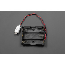MicroUSB Battery Holder 3xAA