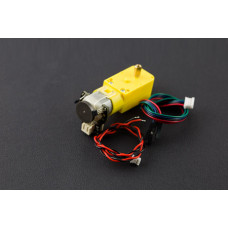 TT Motor with Encoder 6V 160RPM 120:1