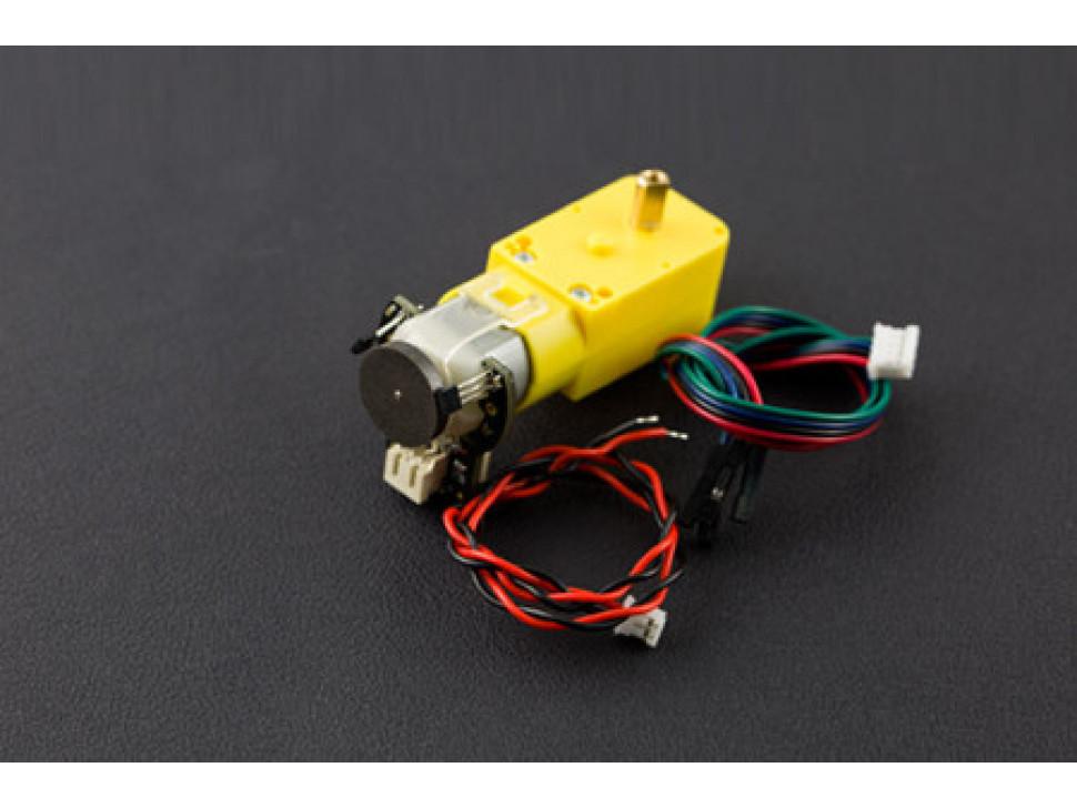TT Motor with Encoder 6V 160RPM 120:1