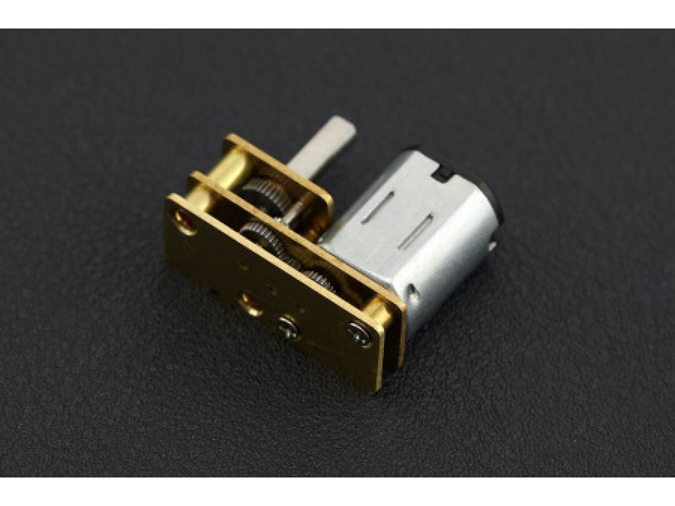 Micro DC Geared Motor with Exclusive Upside Down Structure 6V 150RPM 2.4Kg.cm