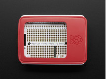 Raspberry Pi 3 B+ Case Red and White