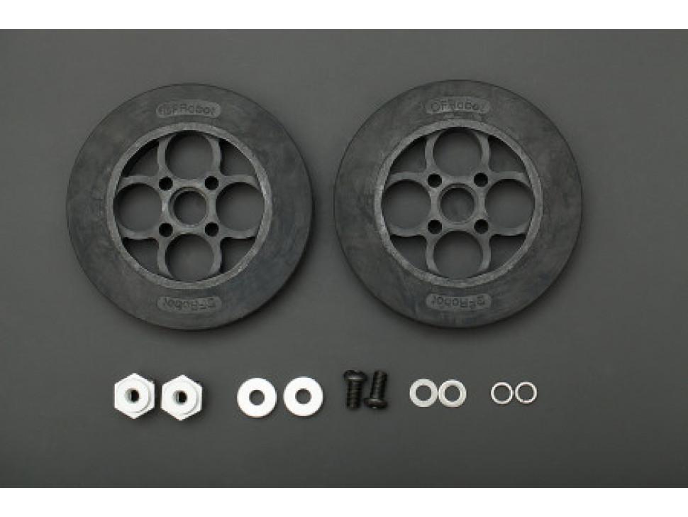 Rubber Wheel 136×24mm Kit
