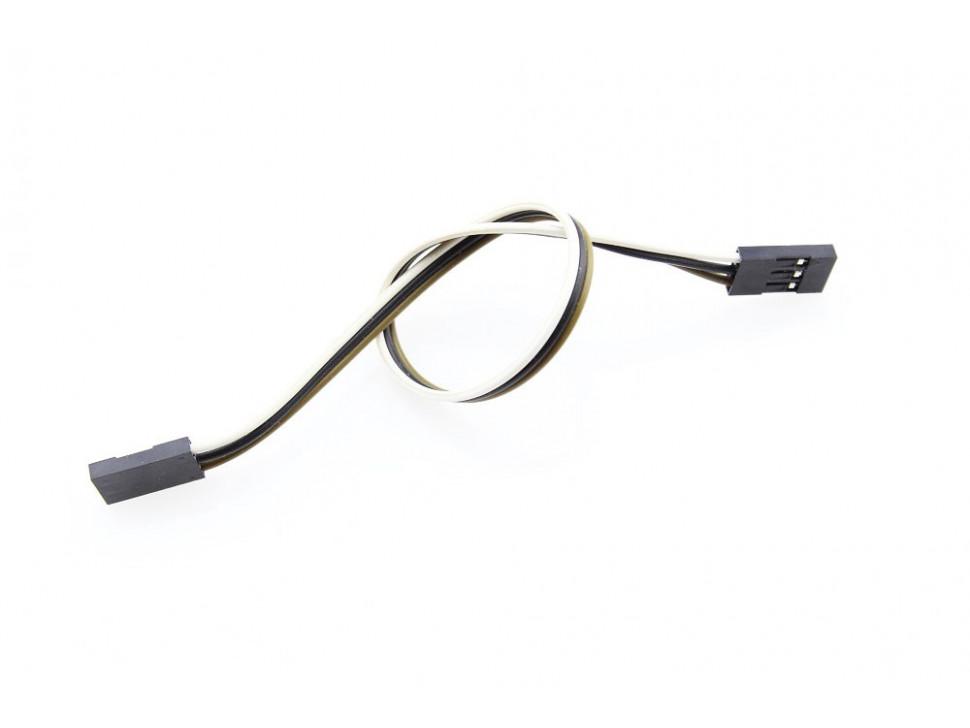 Jumper Wire 3Pin Dual-Female 200mm 5pcs pack
