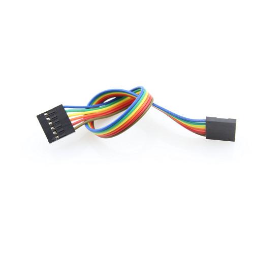 Jumper Wire 6Pin Dual-Female 200mm