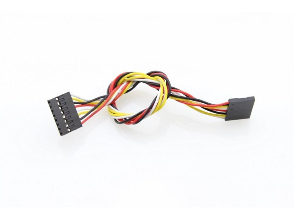 Jumper Wire 8Pin Dual-Female - 200mm