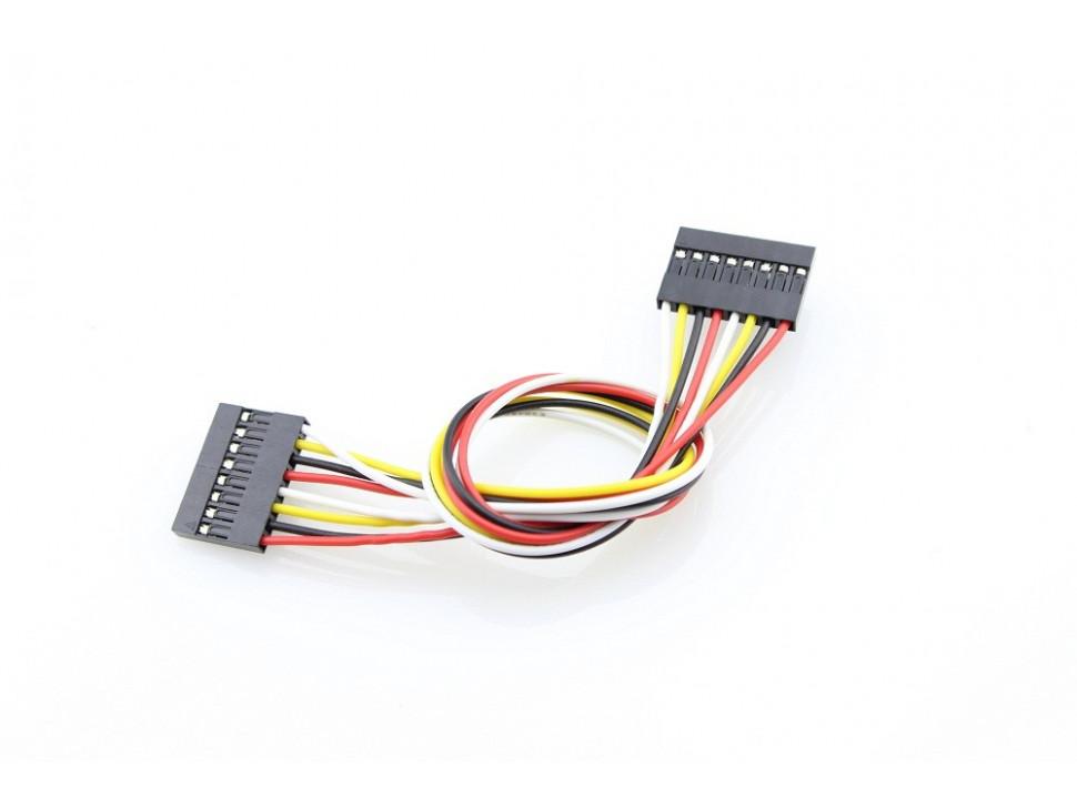 Jumper Wire 9Pin Dual-Female - 200mm