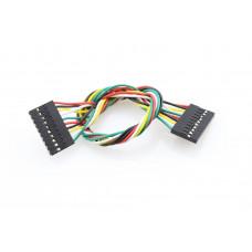 Jumper Wire 10Pin Dual-Female - 200mm
