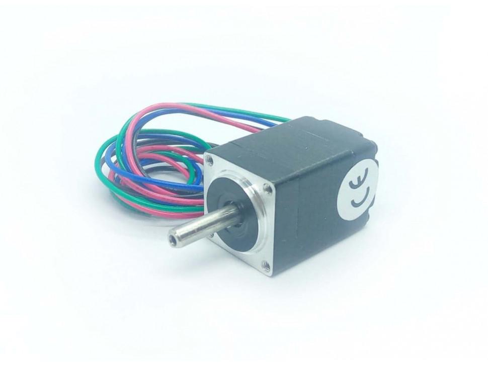 Stepper Motor: Bipolar, 200 Steps/Rev, 28×45mm, 4.5V, 0.67 A/Phase