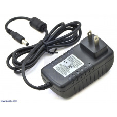 AC / DC 12V 3A Wall Power Adapter 5.5×2.1mm Barrel Jack Center-Positive