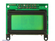 LCD 8x2 Character Black Bezel Parallel Interface