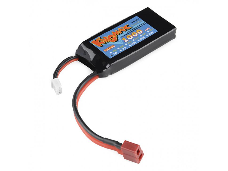 Battery Lithium Ion 1000mAh 7.4v