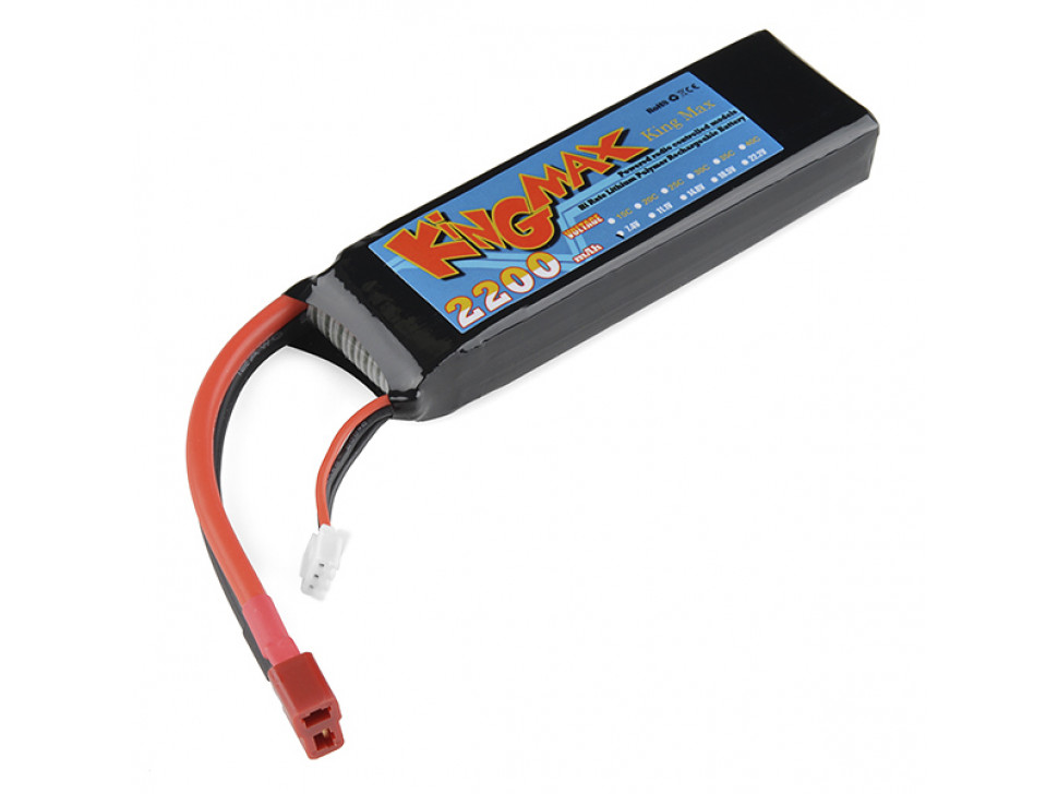 Battery Lithium Ion 2200mAh 7.4v