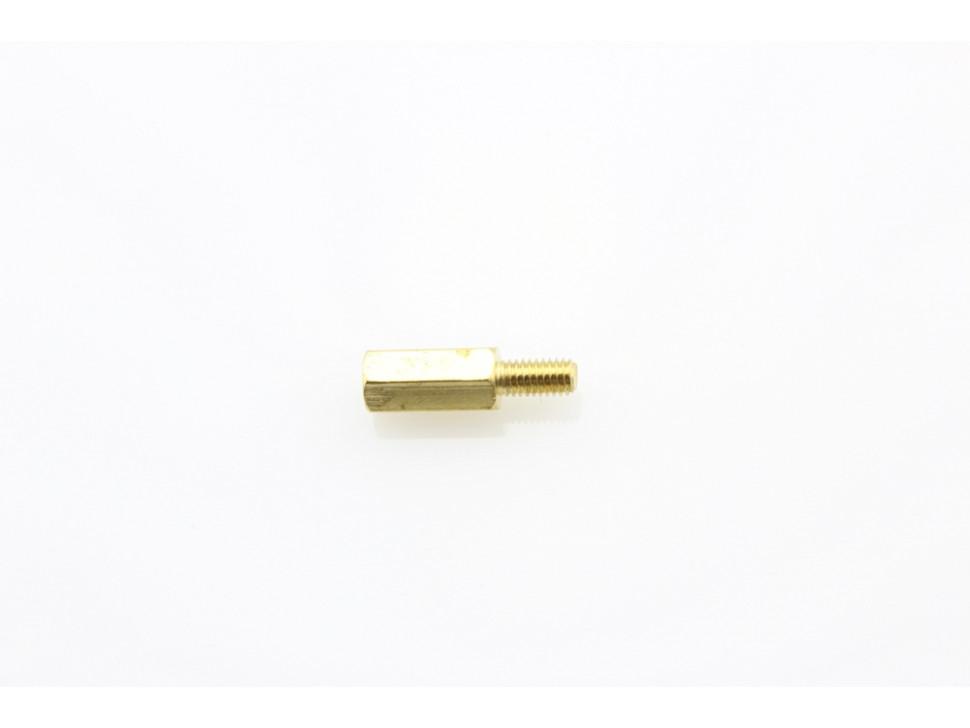 M3 10mm+6mm Hexagon Copper Cylinders (5Pcs Pack)