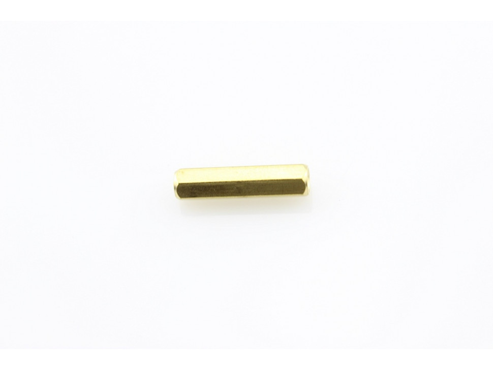 M3 20mm Hollow Hexagon Copper Cylinders (5Pcs Pack)