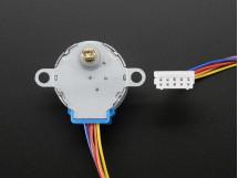 Stepper Motor 12VDC 32-Step 1/16 Gearing