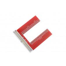 Raspberry Pi B+ U Type GPIO Proto Board
