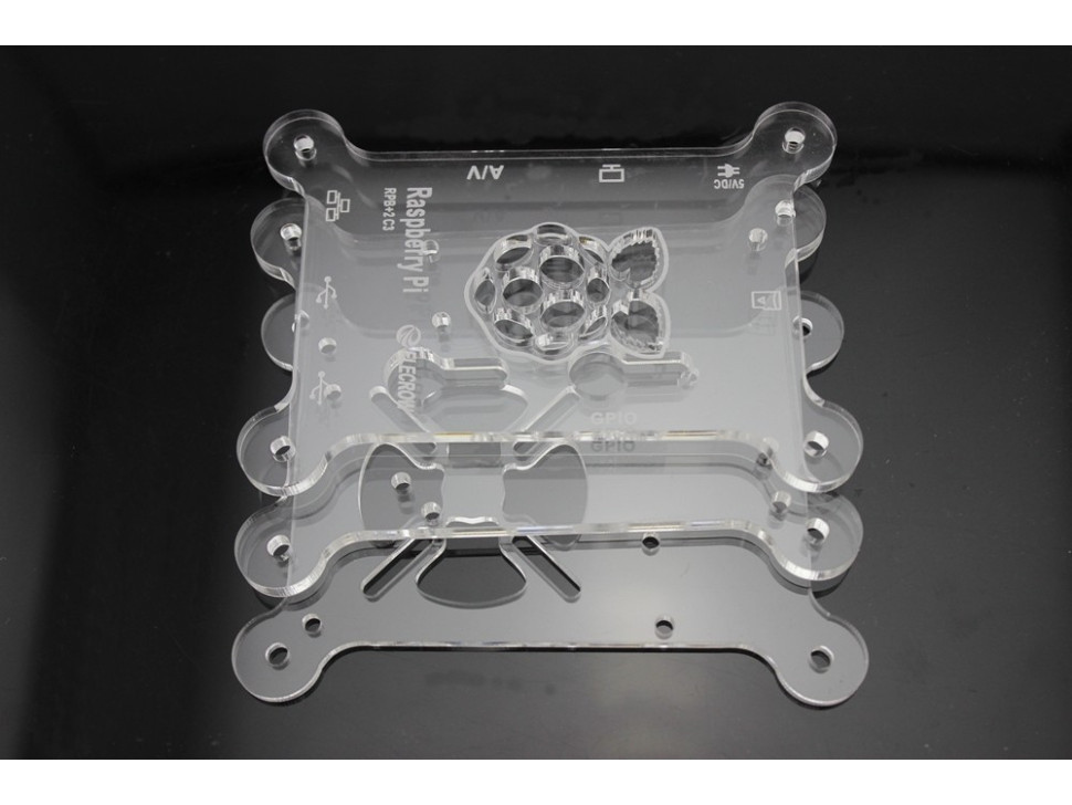 Raspberry Pi Acrylic Bracket Kit Spark Supercomputer Cluster