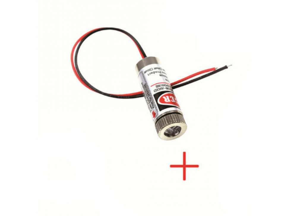 Laser Diode Cross 5mW 650nm Red