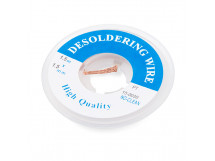 Desoldering Wick for Solder Electronics 2mm Wide and 1.5m Long