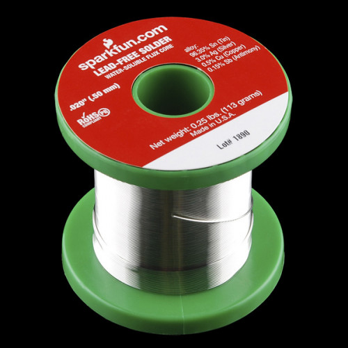 Solder Spool 1/4lb 0.5mm Lead Free