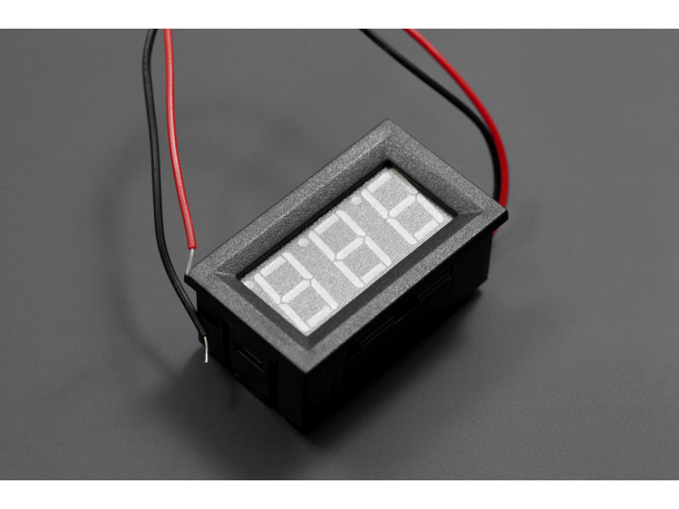 LED Voltage Meter Red