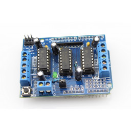 Motor Driver Shield Four Channel L293D For Arduino