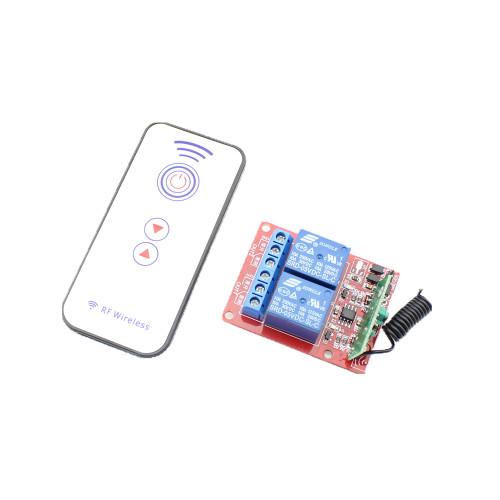 RF Remote Control Module 2 Channel  DC 5V