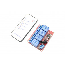 RF Remote Control Module 4 Channels  DC 5V